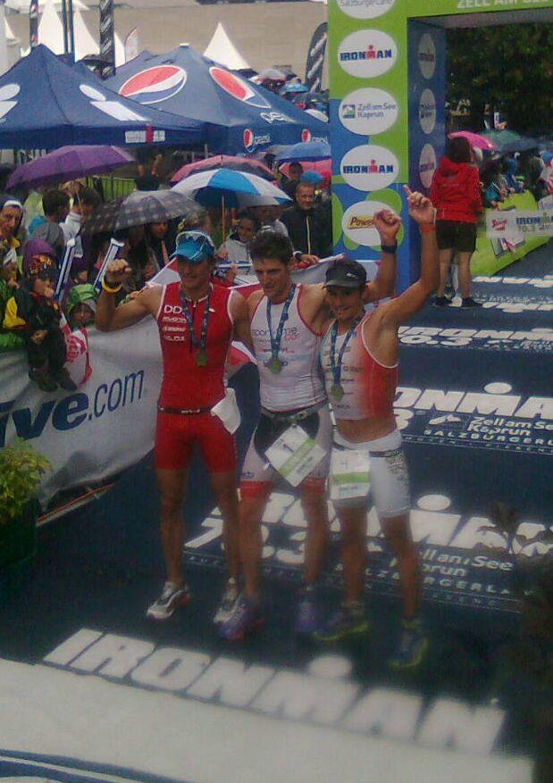 Il tris d'assi azzurri all'Ironman 70.3 Zell am See 2012