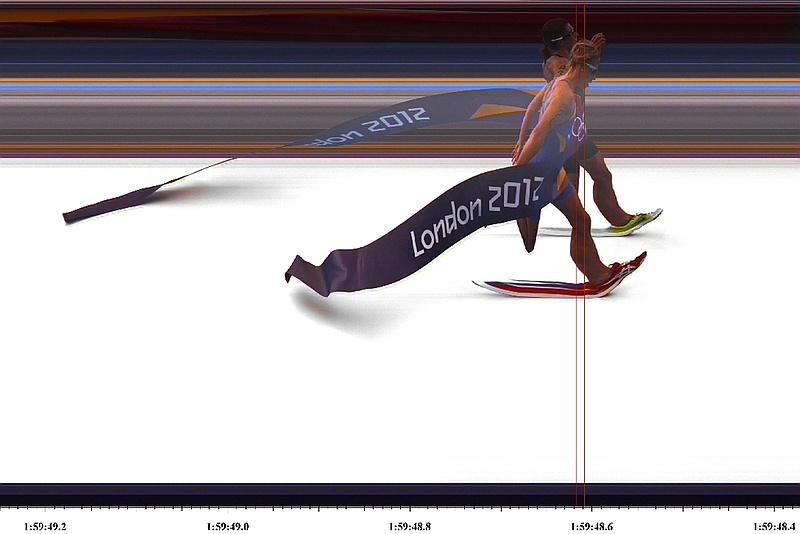 Nicola Spirig vince l'oro olimpico a Londra 2012, Mazzetti 46^