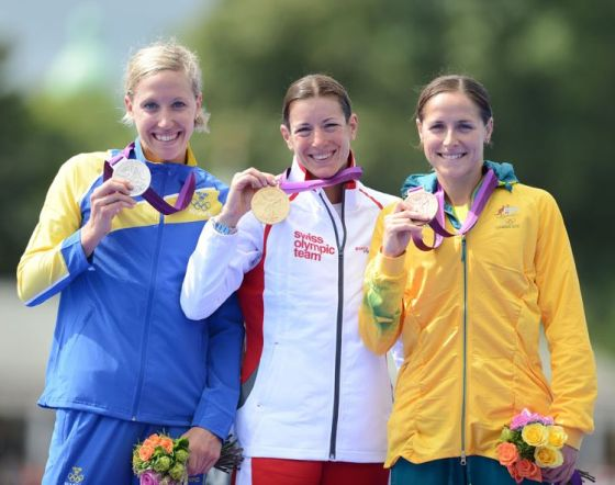 04-08-12 Olimpiadi London 2012 triathlon donne