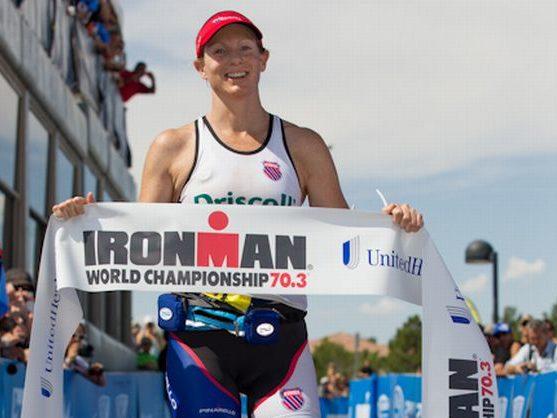 La britannica Leanda Cave si aggiudica l'Ironman 70.3 World Championship 2012, a Las Vegas (USA).