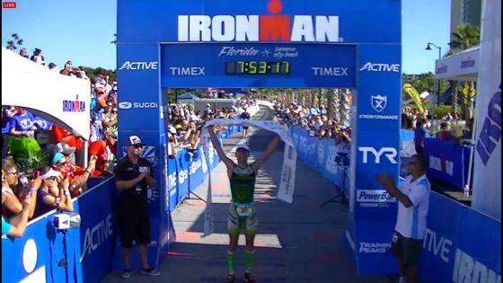 Victor Del Corral trionfa all'Ironman Florida 2013
