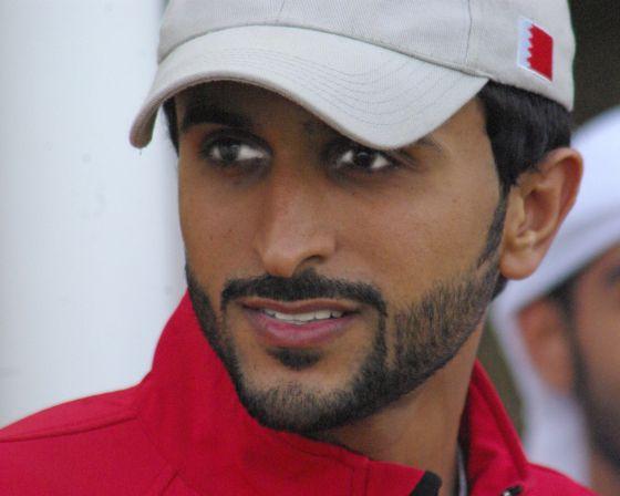 Lo Sceicco Nasser bin Hamad Al Khalifa