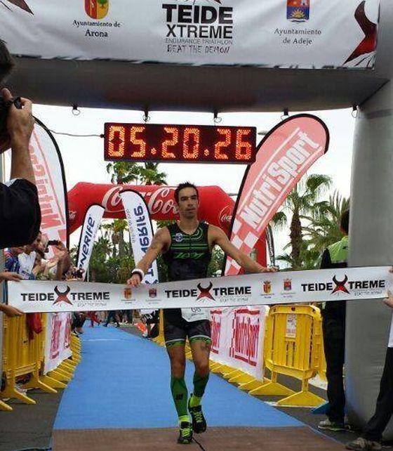 Jonathan Ciavattella trionfa al 1° Tri Tenerife Sur