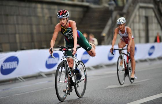Gillian Sanders si conferma campionessa africana 2014 di triathlon