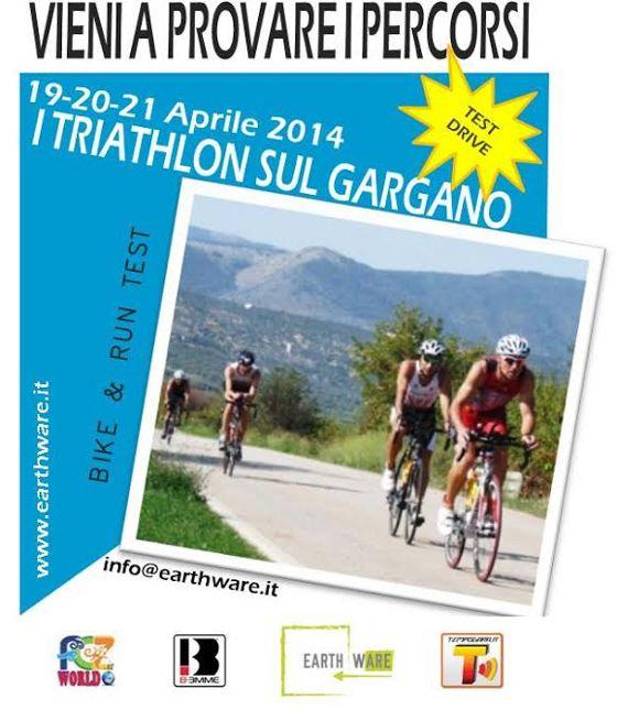 Il Test Drive di Pasqua 2014 sui percorsi triathlon del Parco del Gargano
