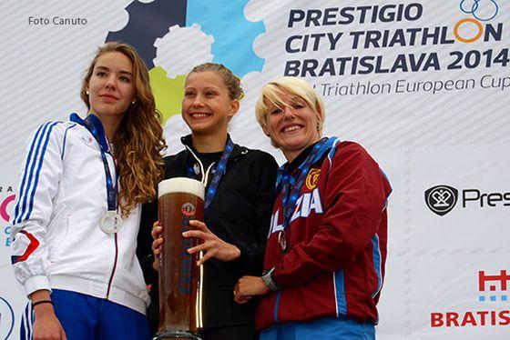 Gaia Peron terza a Bratislava 2014