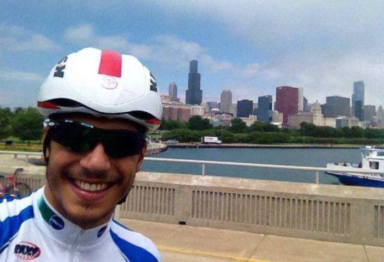Alessandro Fabian prova i percorsi dell'ITU WTS Chicago 2014