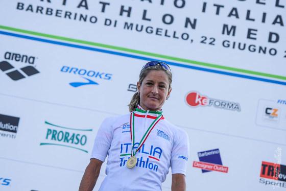 Martina Dogana è campionessa italiana 2014 di triathlon medio (Foto: Tiziano Ballabio)