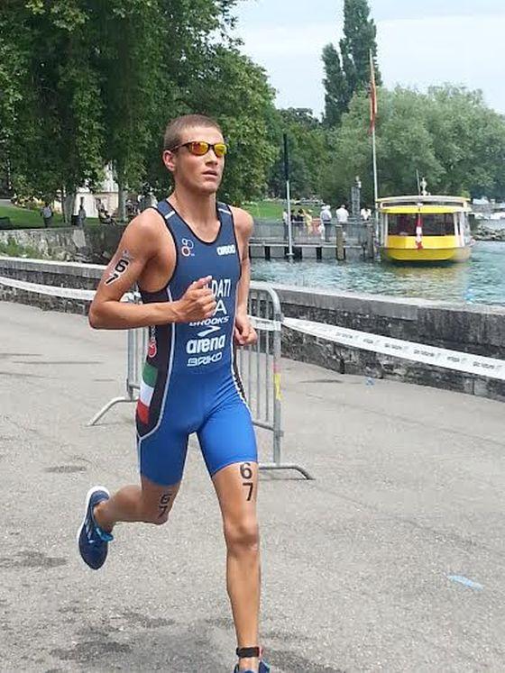 Giulio Soldati si prepara per le Olimpiadi Giovanili di Nanchino