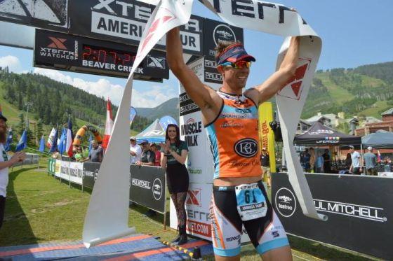 Josiah Middaugh vince l'XTERRA Mountain Championship 2014