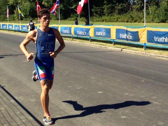 Alessio Fioravanti oro Under 23 nell'Aquathlon a Edmonton 2014