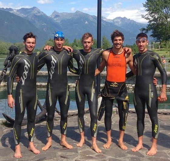 Gli azzurri del triathlon pronti alle gare del fine settimana