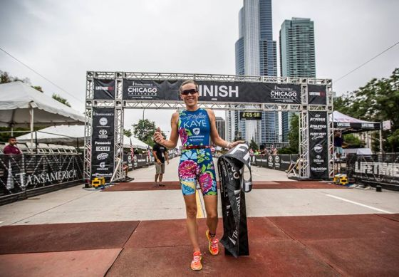Alicia Kaye vince il Chicago Triathlon 2014