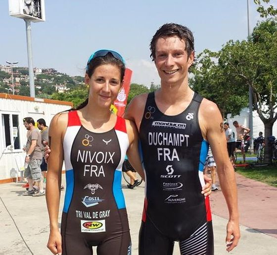 Felix Duchampt ha vinto l'ETU Triathlon European Cup Istabul 2014