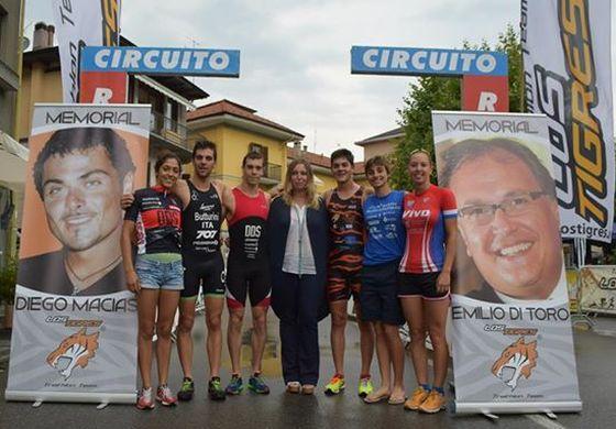 I protagonisti del Fast Triathlon Omegna 2014