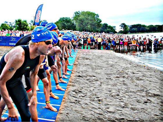 Poche ore al via dello sfarzoso Hy-Vee Triathlon 2014