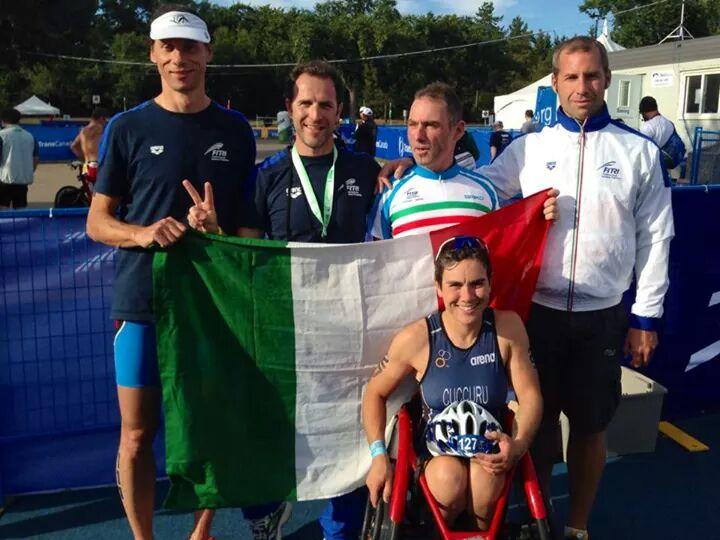 Michele Ferrarin, Simone Biava, Alessio Borgato, Neil McLeod e Rita Cuccurru