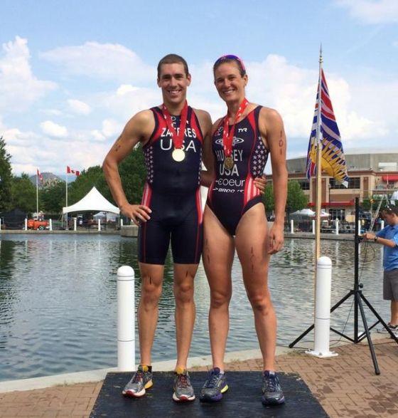 I vincitori statunitensi dell'ITU Kelowna 2014 (Canada)