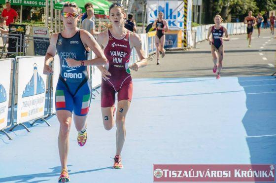 Gaia Peron vince la sua semifinale di ITU World Cup 2014 in Ungheria