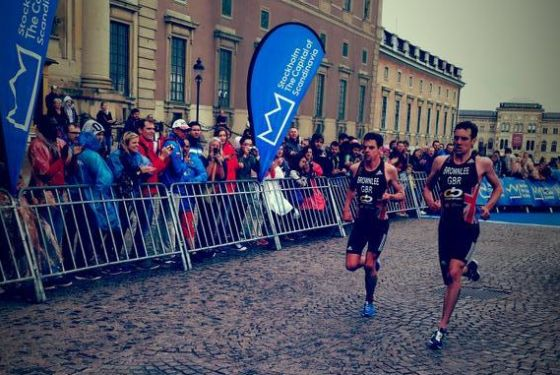 I Brownlee Brothers in azione all'ITU WTS Stockolm 2014