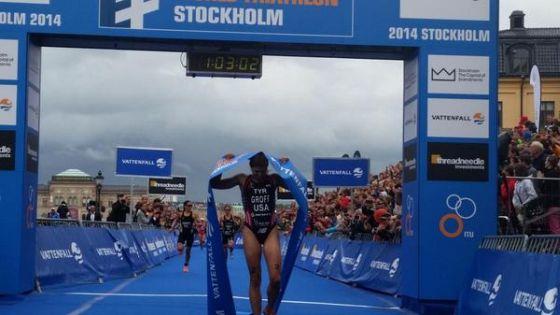 Sara Groff vince l'ITU WTS Stockolm 2014