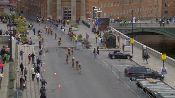ITU WTS Stockolm 2014 frazione bike donne