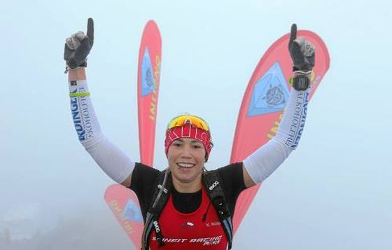 L'iridata di cross triathlon Kathrin Mueller vince l'Inferno Triathlon 2014