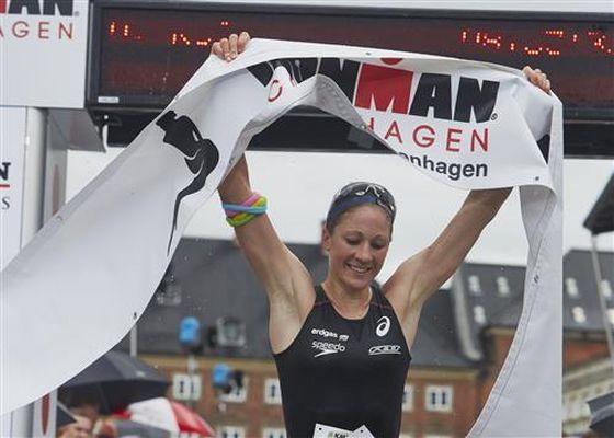 Daniela Ryf vince l'Ironman Copenaghen 2014 Foto: F. Gernyx