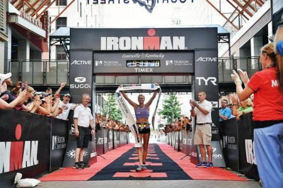 Nina Kraft torna al successo all'Ironman Louisville 2014
