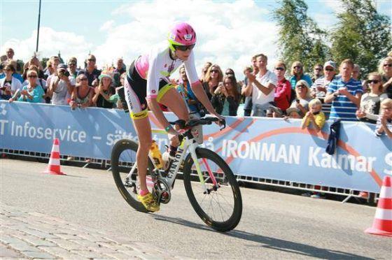Il trionfo di Leanda Cave all'Ironman Sweden 2014