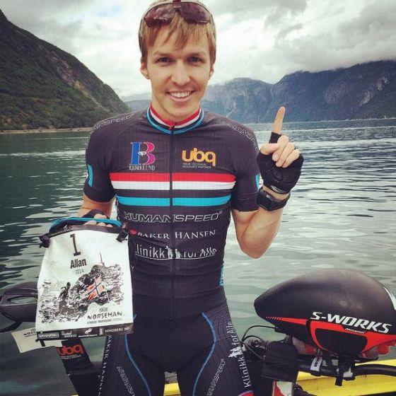 Allan Hovda numero 1 al Norseman Xtreme Triathlon 2014
