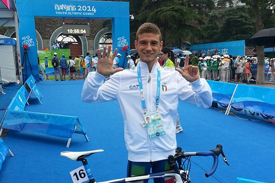 Giulio Soldati è settimo alle Olimpiadi Giovanili 2014 di Nanchino (Cina)