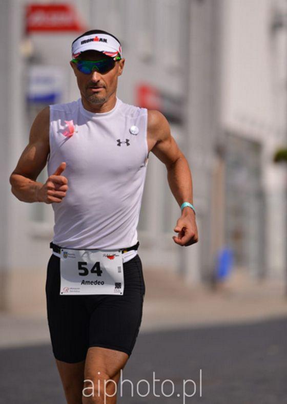 Amedeo Bonfanti nono al PolskaMan 2014