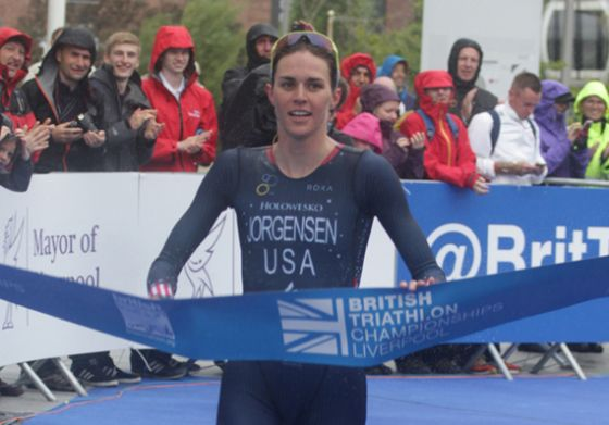 Gwen Jorgensen vince il Triliverpool 2014