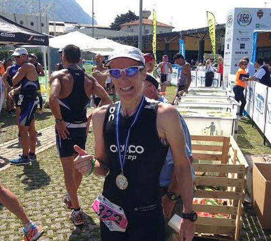 Sandra Fantini vince il 1° Triathlon Medio di Lovere
