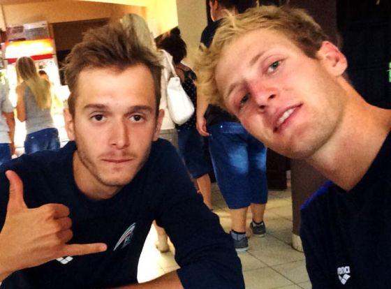 Davide Uccellari e Matthias Steinwandter
