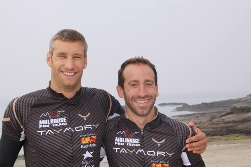 Daniel Hofer e Mattia Ceccarelli compagni di squadra nel team francese Mulhouse