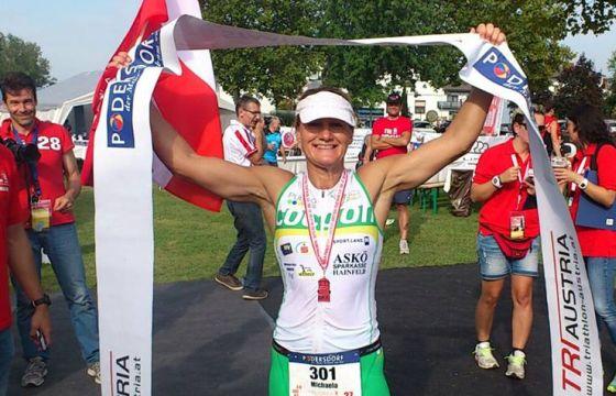 Michaela Rudolf vince l'edizione 2014 dell'AustriaTriathlon 226