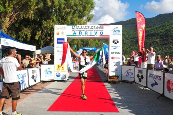 Il sesto successo di Alessandro Fabian agli Italiani di triathlon olimpico di Sapri 2014