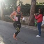 Luca Bertaccini primo uomo al termine dei 3.8K di nuoto di Elbaman X Edition