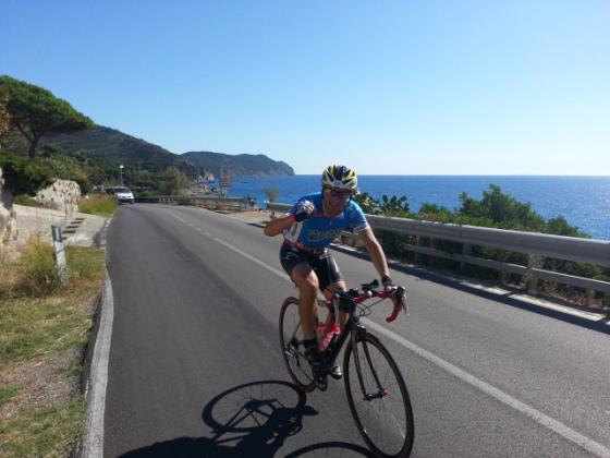La meravigliosa frazione bike di Elbaman