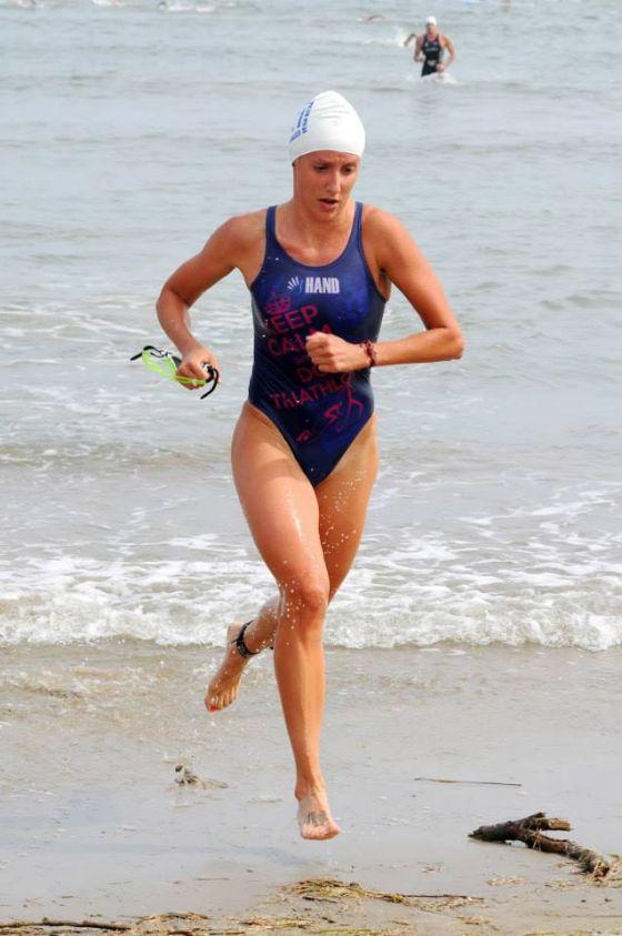 Anche Gaia Peron al X Triathlon Super Sprint a Coppie di Cervia