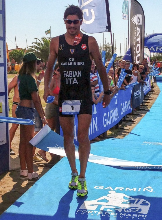 Alessandro Fabian vince il triathlon sprint al 1° Garmin TriO Forte