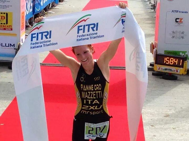 Anna Maria Mazzetti è la nuova campionessa italiana di triathlon olimpico 2014