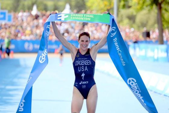 Gwen Jorgensen vince la Grand Final e il rank Mondiale dell'ITU WTS 2014