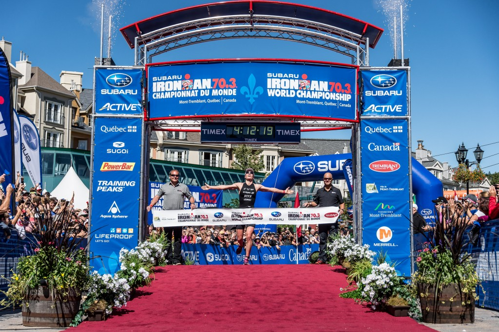 Il trionfo di Danyela Rif all'Ironman 70.3 World Championship 2014