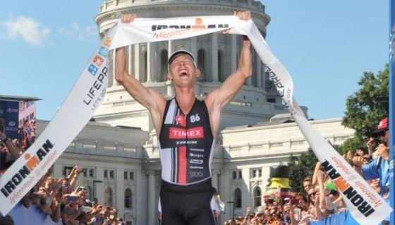 Daniel Bretscher vince l'Ironman Wisconsin 2014