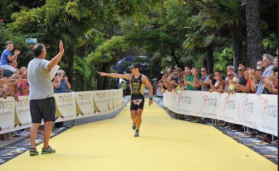Alberto Casadei vince anche il Let's Go Triathlon 2014 a Grado