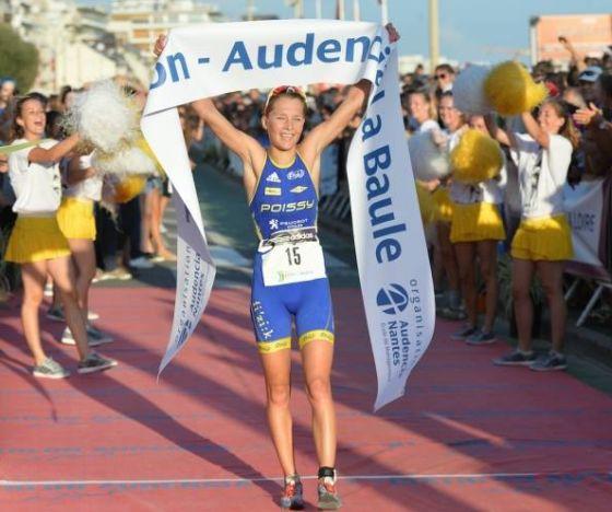 Rachel Klamer  vince il 27° Triathlon Audencia La Baule