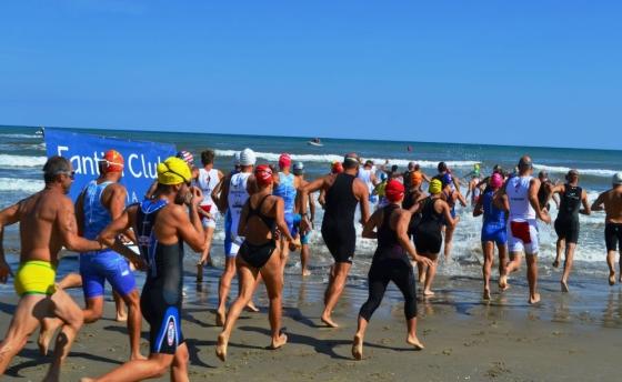 Triathlon SuperSprint a Coppie Cervia